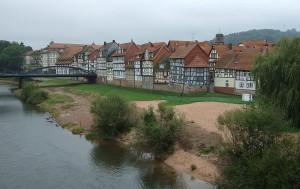 Altstadt Rotenburg - Sehenswürdigkeiten an der Fulda
