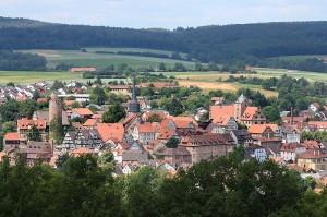 Burgenstadt Schlitz - Sehenswürdigkeiten an der Fulda