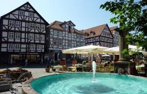 Wunderschöne Städte gibt es entlang des Fulda Radwegs